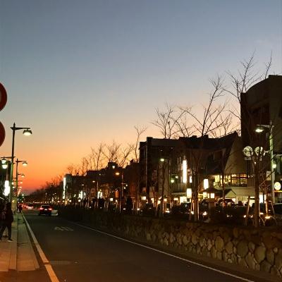 鎌倉散歩 夕陽