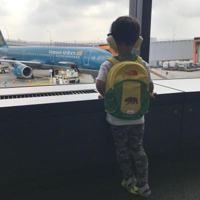 ベトナム・ダナンへ家族旅行 出発