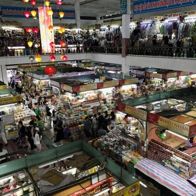 ベトナム ダナン 家族旅行 夏休み ハン市場