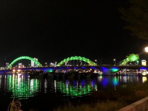 ベトナム ダナン 家族旅行 夏休み ロン橋