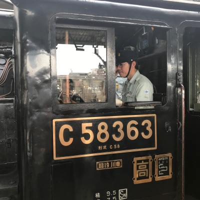 蒸気機関車 熊谷