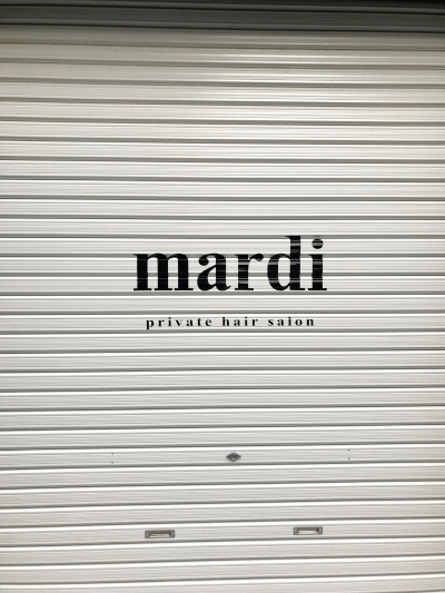 ついに店舗名入れました!