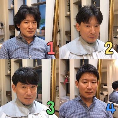 前髪で変わる印象